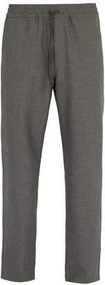 Barena Venezia - Drawstring Waist Stretch Weave Trousers - Mens - Grey