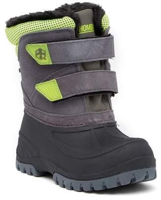 Khombu Snowbank Faux Fur Lined Boot (Little Kid)