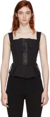 Dolce & Gabbana Black Lace Bustier