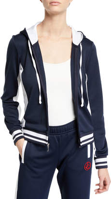 Juicy Couture Robertson French Terry Logo Hoodie Jacket