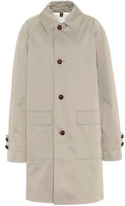 Burberry Waxed cotton gabardine car coat