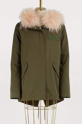 Yves Salomon Army Fur-lined parka