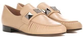 Valentino Rockstud leather loafers