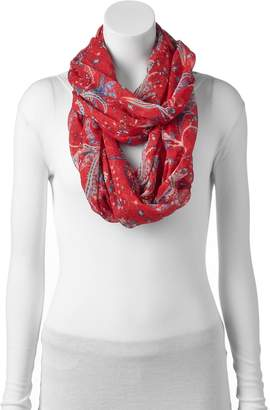 Chaps Paisley Infinity Scarf