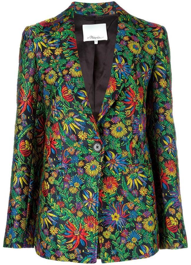 3.1 Phillip Lim3.1 Phillip Lim floral detail blazer