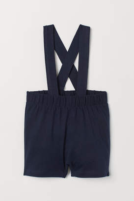 H&M Jersey shorts with straps