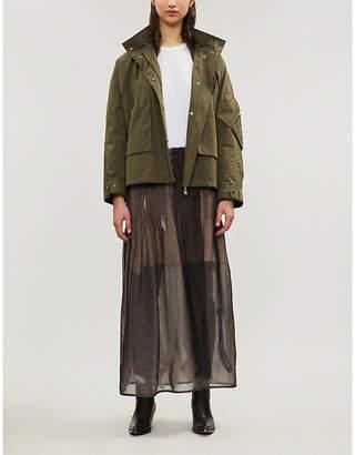 Yves Salomon Utility cotton jacket