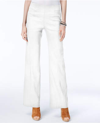 INC International Concepts I.n.c. Petite Pull-On Wide-Leg Pants, Created for Macy's