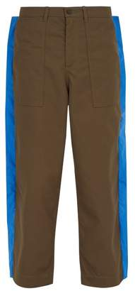 Craig Green Fin Cotton Twill Worker Trousers - Mens - Green