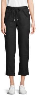 Classic Linen Drawstring Pants
