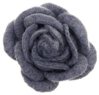 hook + ALBERT Top Coat Felt Lapel Flower