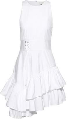 3.1 Phillip Lim Asymmetric Tiered Cotton-poplin Mini Dress