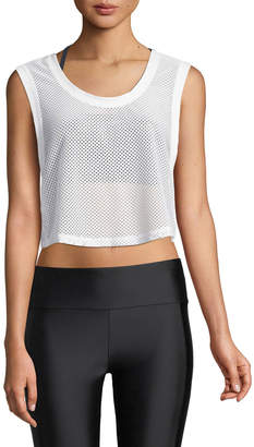 Lanston Killian Mesh Cropped Tank