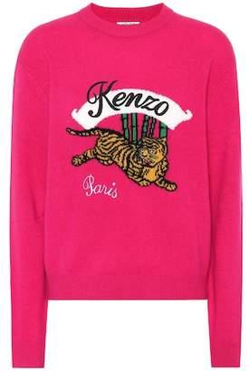 Kenzo Bamboo Tiger wool sweater