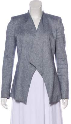 Alice + Olivia Asymmetrical Denim Blazer