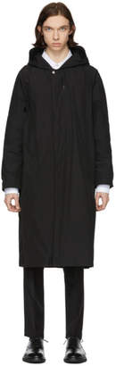 TOMORROWLAND Black Memory Taffeta Gound Coat