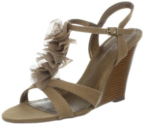 C Label Women's Momo-1 Wedge Pump