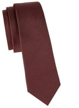 Valentino Textured Slim Silk Tie