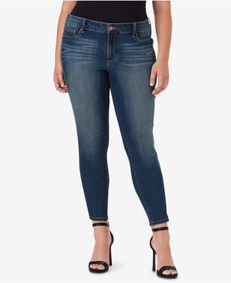 Jessica Simpson Trendy Plus Size Kiss Me Super Skinny Jeans