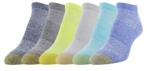 Gold Toe Women's 6-Pk. Sport Arch-Support Liner Socks