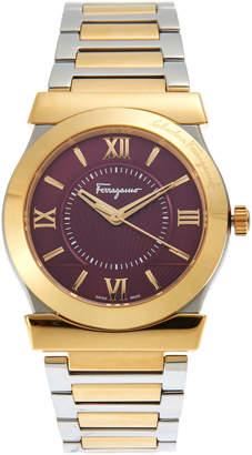 Salvatore Ferragamo FI0910016 Two-Tone Bracelet Watch