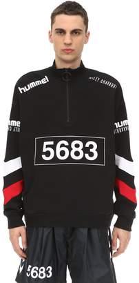 Hummel (ヒュンメル) - HUMMEL WILLY CHAVARRIA ハーフジップスウェットシャツ