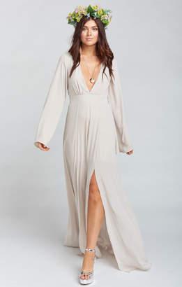 Show Me Your Mumu Venus Long Sleeve Flare Dress ~ Show Me the Ring Crisp