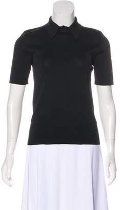 Alexander Wang Polo Short Sleeve Top