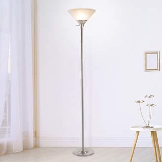 Asstd National Brand Lavish Home Torchiere Lamp Glass Shade