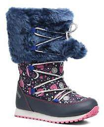 Agatha Ruiz De La Prada Kids's Après-Ski Agatha 2 Zip-up Boots in Blue