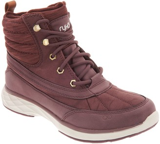 Ryka Water-Repellant Lace-Up Boots - Leanna