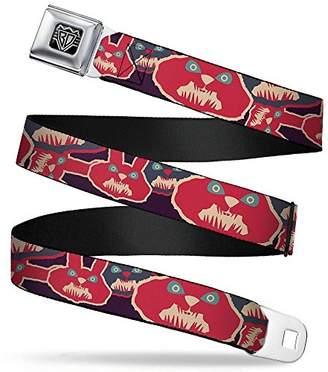 Seatbelt Belt - Angry Bunnies C/U Purple/Red/Blue X-LARGE