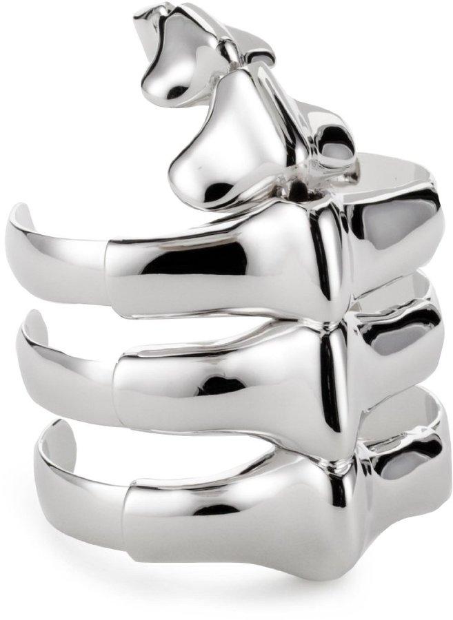 "Noir Fantasia"" Dinosaur Cuff Bracelet"