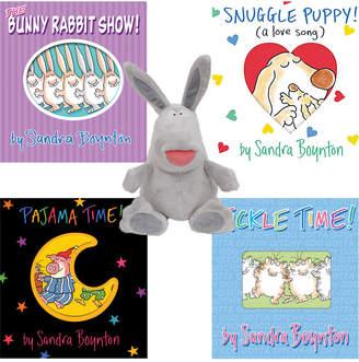 Workman Publishing Set Of Four Books & Plush Toy By Sandra Boynton