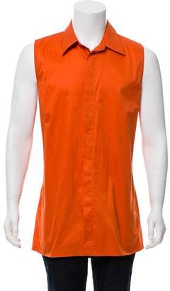 Acne Studios Sleeveless Button-Up Shirt