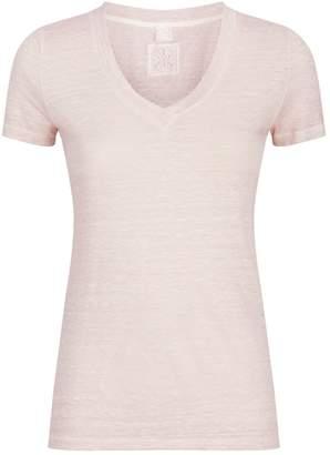 120% Lino 120 Lino Linen Jersey T-Shirt