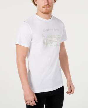 G Star Raw Men's Hamburger Logo Graphic T-Shirt, Created for Macy's