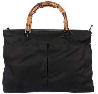 4d6f6a1d73de Gucci Nylon Tote Bag - ShopStyle