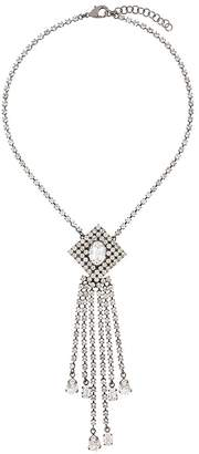 Christopher Kane crystal rain necklace