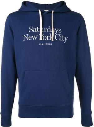 Saturdays NYC logo hoodie