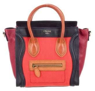Celine Nano Luggage Tote