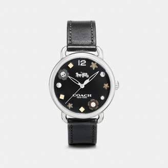 Coach Delancey Watch With Charm Dial, 36Mm