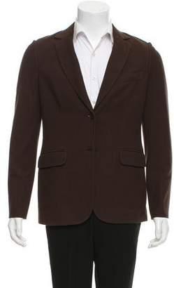 Loro Piana Woven Two-Button Blazer w/ Tags