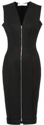 Victoria Beckham Wool-blend sheath dress