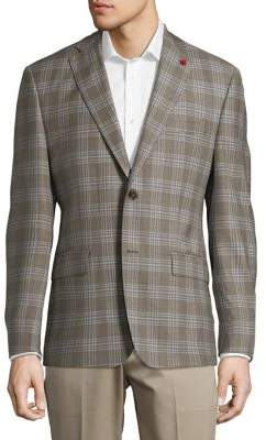 TailoRED Wool-Silk Sportcoat