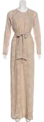 Yigal Azrouel Silk-Blend Evening Dress