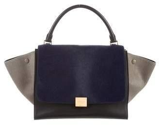 Celine Ponyhair Medium Trapeze Bag