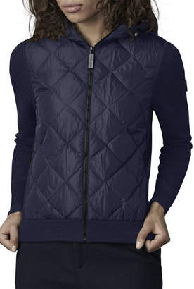 Canada Goose HyBridge Knit & Quilted Hoodie
