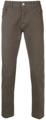 Entre Amis slim fit trousers