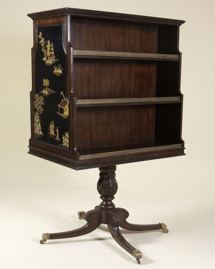 Maitland-Smith Revolving Bookcase